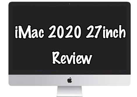 「iMac2020 27インチ松モデルレビュー!AppleSilicon前最後?の安定感はおすすめ!」のアイキャッチ画像